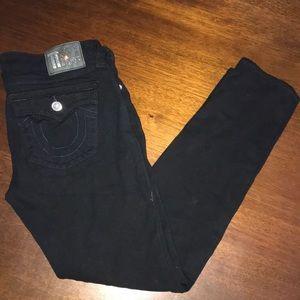 True Religion Black Pants